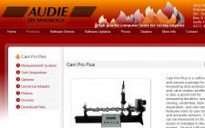 Audie Technology website designed by Gaddy Web Design
